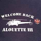 Baumwoll T-Shirt WELCOME ALOUETTE III